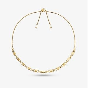 MICHAEL KORS MERCER LINK SLIDER NECKLACE